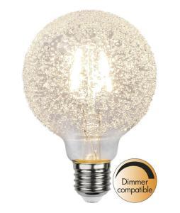 E27 Decoled Glob95 1W 2600K 65lm LED-Lampa