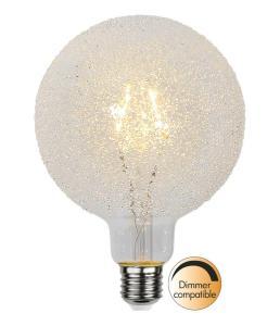 E27 Decoled Glob125 1W 2600K 65lm LED-Lampa
