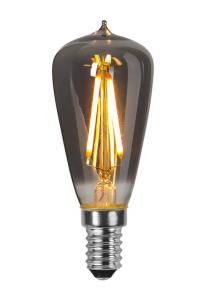 E14 Mininavigation Smoke 1.6W 2100k 30lm LED-lampa
