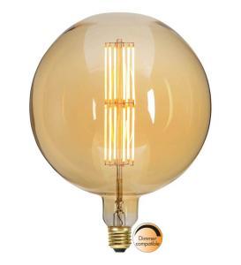 E27 Industrial Vintage Glob200 10W 2000K 650lm LED-Lampa