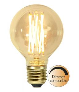 E27 Vintage Gold Glob80 3.7W 1800K 240lm LED-Lampa