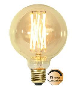 E27 Vintage Gold Glob95 3.7W 1800K 240lm LED-Lampa