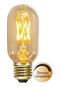E27 Vintage Gold Tubural 3.7W 1800K 240lm LED-Lampa