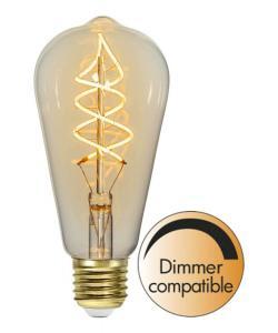 E27 Flexifilament Navigation 3W 2200K 160lm LED-Lampa