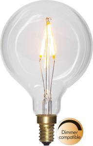 E14 SoftGlow Glob80 1.5W 2100k 100lm LED-Lampa