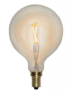 E14 SoftGlow Glob80 1W 2100K 90lm LED-Lampa
