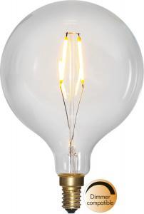 E14 SoftGlow Glob95 1.5W 2100k 100lm LED-Lampa