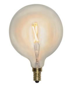 E14 SoftGlow Glob95 1W 2100K 90lm LED-Lampa