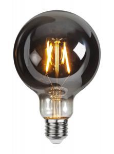 E27 Rökfärgad Glob95 1.8W 2100k 80lm LED-Lampa