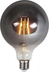 E27 Rökfärgad Glob125 1.8W 2100k 80lm LED-Lampa