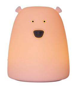 FUNCTIONAL Little Bear Nattlampa 10,3cm Rosa