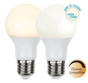 E27 Dim-To-Warm Normal 9W 2700 - 1900K 806lm LED-Lampa