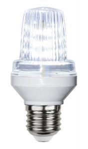 E27 Dekoration Party Flash 2W 6000K LED-Lampa