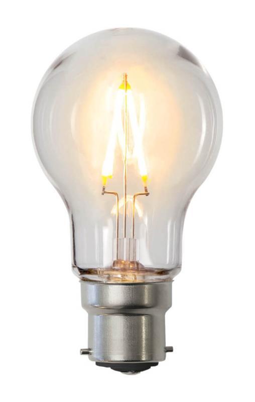 B22 Dekoration Party Klot 0.6W 2200k 70lm LED-Lampa