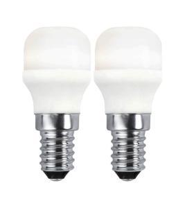 E14 2-pack Promo Päron 1.7W 2700K 136lm LED-Lampa