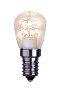 E14 UNI K Päron Klar 3000K 2,3W 70lm Dimbar Unison LED lampa