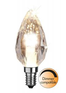 E14 Diamond Kronljus 4W 2700K 300lm LED-Lampa