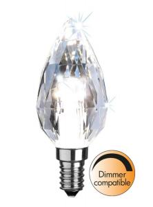 E14 Diamond Kronljus 4W 4000K 380lm LED-Lampa