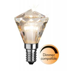E14 Diamond 3.3W 2700K 240lm LED-Lampa