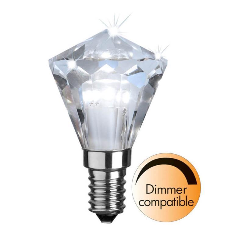 E14 Diamond 3.3W 4000K 290lm LED-Lampa