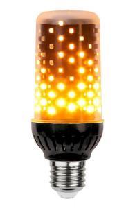 E27 Flame Lamp Tubural 3.6-6.2W 1800K 300lm LED-Lampa