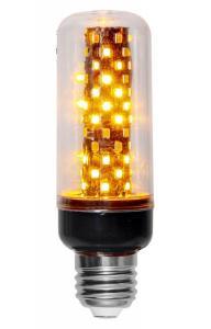E27 Flame Tubural Sensor 1.5-3.5W 1800k 105lm LED-Lampa