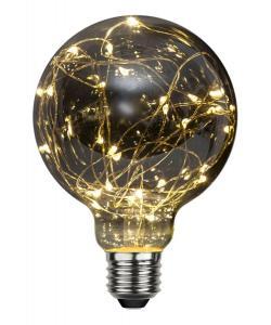 E27 Decoled Glob95 1.5W 2700K 20lm LED-Lampa