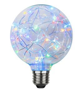 E27 Decoled Glob95 1.5W 15lm LED-Lampa