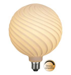 E27 Opal Mönster Glob150 6W 2600K 550lm LED-Lampa
