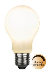 E27 Normal RA90 Dimbar 9W 3000K 800lm Opal LED-Lampa