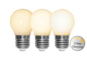 E27 Opal 3-Stegs Dimmer Klot 4W 2700k 350lm LED-Lampa