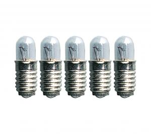 E5 Reservlampa Micro 5-Pack 12V 0.6W Klar