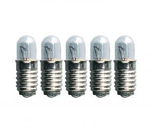E5 Reservlampa Micro 5-Pack 12V 0.8W Klar