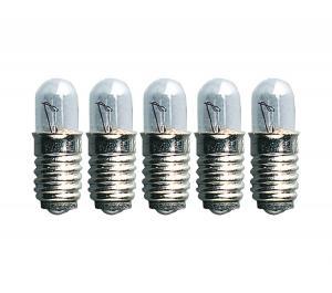 E5 Reservlampa Micro 5-Pack 12V 1.2W Klar