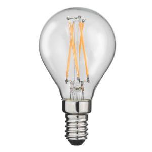 E14 Classic Klot 4W 2700K 400lm Klar LED-lampa