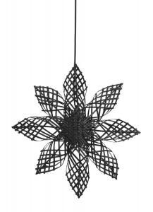 ANNA STAR Hängande Stjärna 45,5cm Svart