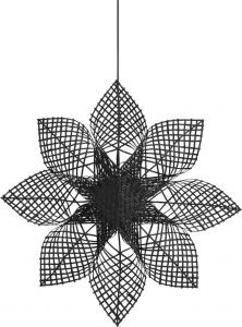 ANNA STAR Hängande Stjärna 82cm Svart