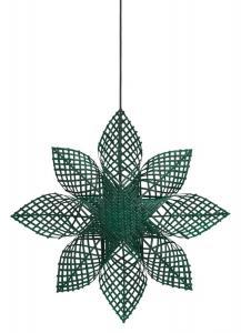 ANNA STAR Hängande Stjärna 68cm Grön
