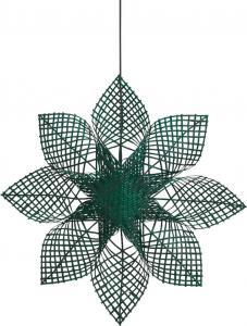 ANNA STAR Hängande Stjärna 82cm Grön