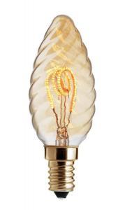 E14 UNI-FLEX Vr.Kron Gold Dimbar 3W