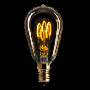 E14 Mininavigation Gold 3W 2000k 150lm LED-lampa