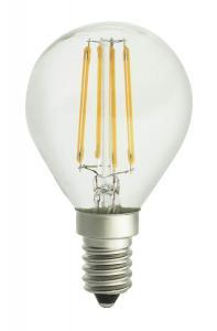 E14 UNI-LEDISON Klot Klar 2200K 4W 350lm Dimbar