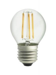 E27 UNI-LEDISON Klot Klar 2200K 4W 350lm Dimbar