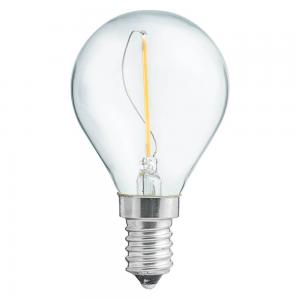 E14 UNI-LEDISON Klot Klar 1W