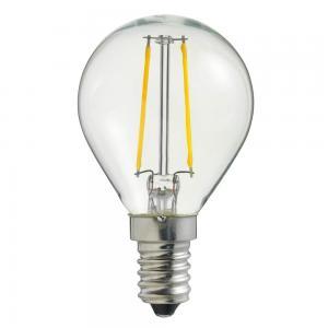 E14 UNI-LEDISON Klot Klar 2W