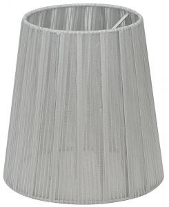 ORIVA Lampskärm Organza 14,5cm Silver