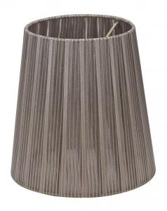 LAMPSKÄRM Organza 17cm Grafitgrå