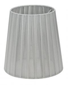 LAMPSKÄRM Organza 17cm Silver