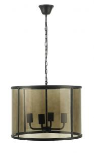 Köp Oriva bordslampa Cone svart guld 42cm hög E14 | pålyset.se