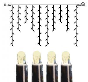 System LED Istappsslinga Extra 2x1m Varmvit/Svart